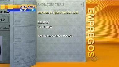 Empregos: empresa de máquinas de café tem vaga em Porto Alegre - Assista ao vídeo.