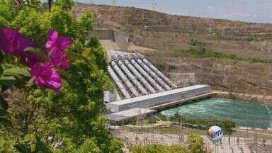 Com estiagem, nível da Represa de Furnas continua caindo no Sul de Minas - Com estiagem, nível da Represa de Furnas continua caindo no Sul de Minas