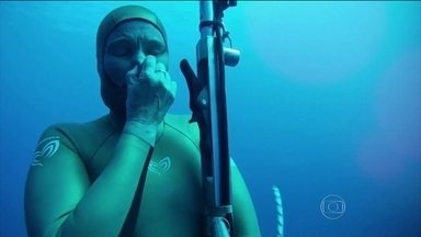 Desaparecimento de russa recordista mundial de apneia é cercado de mistérios - Atleta sumiu após mergulho na Espanha