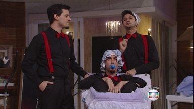 A diversão chegou! Os Barbixas explicam como será o episódio deste domingo - Barbixas explicam o enredo do sexto episódio