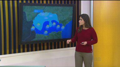 Confira a previsão do tempo para esta segunda-feira (24). - Semana deve ser de tempo instável em todo o Paraná.