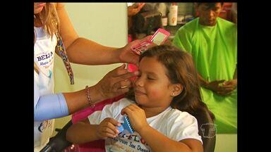 Em Santarém, Projeto Beija Flor realiza atividades educativas para crianças e adolescentes - Ação foi na tarde de domingo (23).