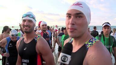 Atletas mostram bom preparo físico no Challenge em Maceió - Competição atraiu competidores de várias partes do mundo.