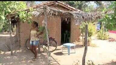 Vistoria do Calendário foi conferir melhorias no povoado Santa Rita - Vistoria do Calendário foi conferir melhorias no povoado Santa Rita