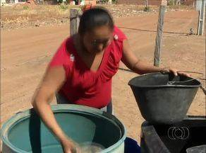 População de Pium está sem água há cerca de 20 dias; veja os transtornos - População de Pium está sem água há cerca de 20 dias; veja os transtornos