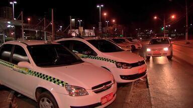 Taxistas de Cuiabá aderam a campanha de fiscalização da Lei Seca - Taxistas de Cuiabá aderam a campanha de fiscalização da Lei Seca