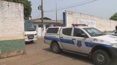 Detentos de Ariquemes são transferidos para Porto Velho - A superlotação do presídio foi motivo de transferência de 40 presos.
