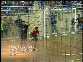 Hoje tem a final da Taça RBS de Futsal em Barão de Cotegipe, RS - Depois de vencer por 5 a 3, a equipe da casa depende apenas de um empate para garantir o título.
