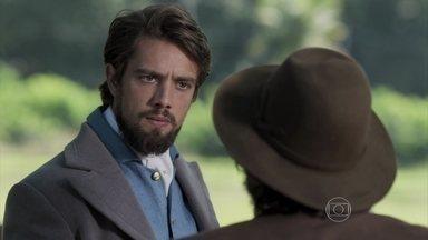 Além do Tempo, capítulo de sexta-feira - dia 04/9/2015, na íntegra - Felipe descobre que Vitória saiu de carruagem durante a madrugada