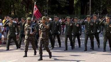 Milhares assistem a desfile de 7 de setembro em Belo Horizonte - Evento em comemoração à Independência do Brasil foi realizado na Avenida Afonso Pena, no Centro.