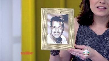 Monica Iozzi brinca com foto antiga de Otaviano Costa - Apresentador vai às gargalhadas