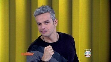 Presença ilustre! George Clooney 'participa' do Vídeo Show - Otaviano Costa até imita 'carão' do astro de Hollywood