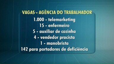 Sine oferece diversas oportunidades de emprego - A maioria das vagas é para o setor de telemarketing.