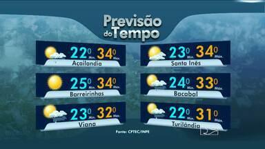 Veja como fica o tempo nesta terça-feira, no Maranhão - Veja como fica o tempo nesta terça-feira (8), aniversário de São Luis (MA).