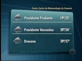 Confira como fica o tempo na região nos próximos dias - Mudança no clima já era prevista pela meteorologia.