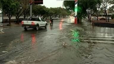 Chuva e ventos fortes causam estragos na região noroeste paulista - O vento e a chuva fortes na região de Araçatuba (SP) e São José do Rio Preto (SP) causaram danos a algumas cidades, entre elas Nova Castilho (SP), Bento de Abreu (SP) e Birigui (SP). A velocidade dos ventos chegou a 21 km/h em Araçatuba.