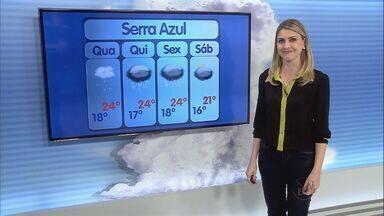 Frente fria mantém previsão de chuva na região de Ribeirão Preto - Quarta-feira (9) deve ser de tempo nublado e temperaturas mais baixas. Em Orlândia (SP), os termômetros devem registrar mínima de 18ºC.
