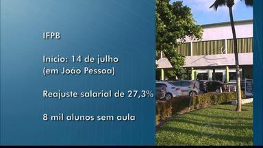 Greves nas universidades, INSS e Ministério do Trabalho e Emprego na Paraíba - Funcionários e professores da Universidade Federal da Paraíba e Universidade Estadual estão em greve há mais de dois meses.