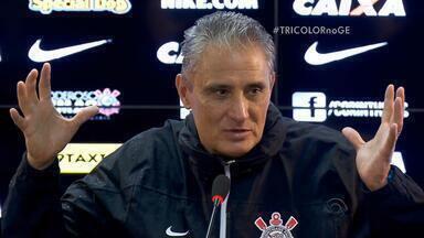 Mestre e aluno, técnicos Tite e Roger Machado se enfrentam em campo nesta quarta (9) - Grêmio enfrenta o Corinthians pelo Brasileirão.