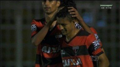 Atlético-GO arranca empate contra o Luverdense no último minuto - Time joga mal, mas Juninho consegue balançar as redes e evitar derrota do Dragão.