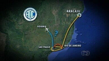 Jogo do Vila Nova contra o Confiança é adiado - Time sergipano tem problemas no voo e não consegue chegar a Goiânia. CBF ainda marcará nova data.