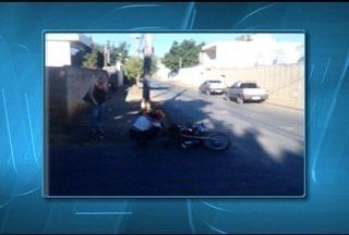 Cresce o número de acidentes de motos Norte de Minas - Somente em 2014, o Samu Macro Norte atendeu 7.075 acidentes com motocicletas.