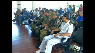 Reunião define esquema de fiscalização de estrada que liga Santarém a Alter - Ações intensificam próximo ao Sairé.