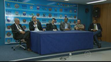 Governo do Estado anuncia medidas para tentar conter brigas de torcidas organizadas - Imagens de suspeitos de participar da confusão entre torcedores do Santa Cruz e do Paysandu foram divulgadas e inquérito foi instalado.
