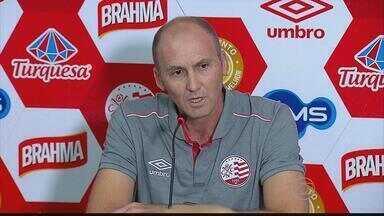Novo treinador do Náutico, Gilmar Dal Pozzo, se apresenta no CT - Técnico disse que pretende conquistar o título da Série B.