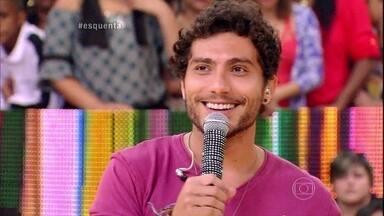 Bruninho e Davi relembram começo da carreira palco do Esquenta! - Sertanejos aproveitam e contam novidade para o público