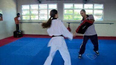 Jovens do ES disputam medalha no Taekwondo no Pan 2015, no México - Jovens do ES vão disputar medalha no Taekwondo no Pan 2015, no México.