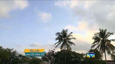 Veja como fica o tempo nesta quarta-feira, no Maranhão - Quarta-feira (16) de sol e calor em todo o Maranhão. No sul, o tempo fica seco.
