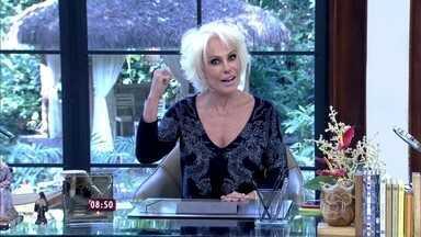 Ana Maria abre o 'Mais Você' ao som de 'Papo de Jacaré' - Apresentadora ainda exibe vídeos de bebês dando gargalhadas