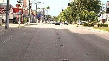 Motoristas reclamam que Faixa Azul está apagada em Maceió - Falta de manutenção é o principal motivo para os transtornos