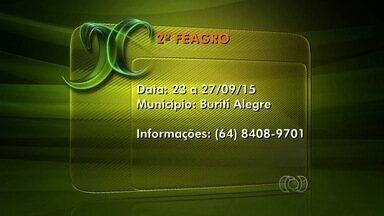 Confira os eventos do campo para esta semana, em Goiás - Veja informações sobre exposições agropecuárias e festas.