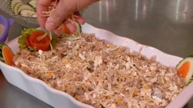 Aprenda a preparar uma deliciosa receita de maria isabel cremosa de bode. Confira! - Aprenda a preparar uma deliciosa receita de maria isabel cremosa de bode. Confira!