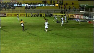 Luverdense enfrenta o Criciúma fora de casa pela Série B - Verdão do Norte quer manter embalo