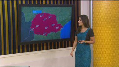 Primavera começa com temperaturas altas em todo o Paraná - Confira a previsão do tempo para o estado nesta quarta-feira (23).