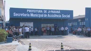Prédio da Secretaria de Assistência Social é reinaugurado em Ji-Paraná - Obra custou 250 mil reais.