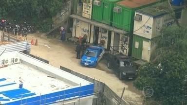 Bope faz operação na Rocinha - O Bope subiu o morro ainda de madrugada. Ninguém foi preso.