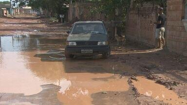 Obra de drenagem no bairro Lagoinha deve ser retomada - Tribunal de Justiça liberou ordem para que obras continuem.