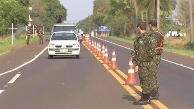 Exército faz operação para combater transporte irregular de explosivos - Operação Rastilho também é realizada em 11 estados