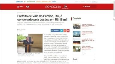 Veja os destaques do G1 de Rondônia desta sexta-feira (25) - Veja as principais notícias desta manhã, com AnaFabre.
