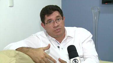 Prefeito de Nazaré do Piauí fala sobre fechamento de escolas - Prefeito de Nazaré do Piauí fala sobre fechamento de escolas