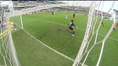 Santos vence o Inter pelo Brasileiro - Peixe derrotou o Colorado por 3 a 1.