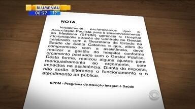 Hospital Florianópolis demite 28 funcionários; unidade sofre com a falta de efetivos - Hospital Florianópolis demite 28 funcionários; unidade sofre com a falta de efetivos