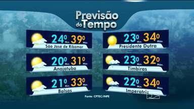 Veja a previsão do tempo para esta sexta-feira (2) - Sol e calor durante o fim de semana na ilha de São Luís.