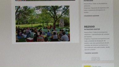 Financiamento colaborativo garante encontro de contadores de história - Sem verbas públicas, nem patrocínio de empresas, foi a maneira que os organizadores encontraram para viabilizar a quinta edição do encontro, de 27 de outubro a 1° de novembro, em Londrina.