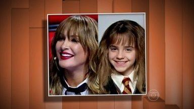Vídeo Show chama atenção para os looks da estreia da quarta temporada 'The Voice Brasil' - Internautas comparam Claudia Leitte com bruxinha de 'Harry Potter'