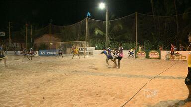 Abertura do Campeonato Maranhense de futebol de areia - Abertura do Campeonato Maranhense de futebol de areia